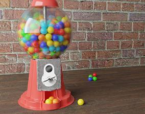 machine Gumball Machine 3D model