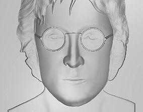 John Lennon 3D print model