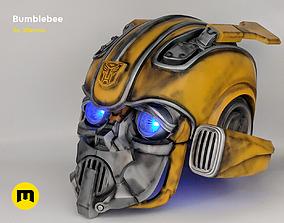 3D print model Bumblebee 2018 beetle wearable head