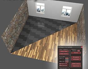 scripts-plugins Floor Designer script 3D model
