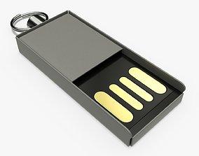 3D Flash drive USB 03