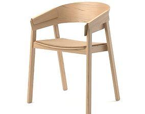 sofa 3D model Muuto cover chair
