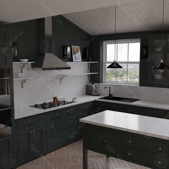Kitchen project sixteen