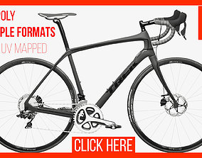 3D model animated Bike Bicycle Trek Domane