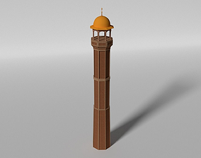 3D model Minaret