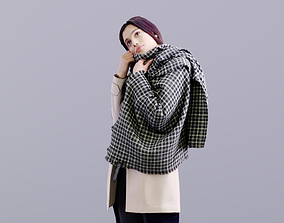 3D asset Myriam 10154 - Standing Casual Woman