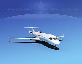 Canadair CRJ700 LP SS 3D