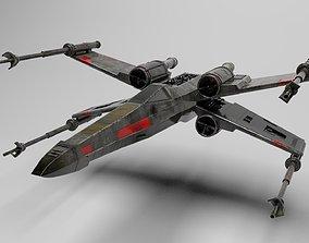 3D model star wars t-65