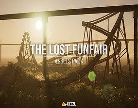 3D The Lost Funfair - Asset Pack - Blender and FBX