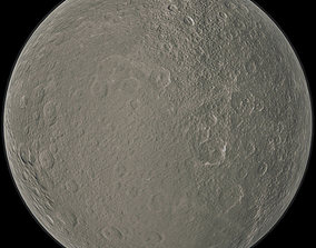 Moon Rhea 3D model