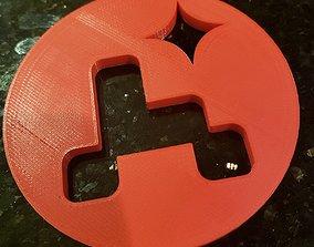 NASA Perseverance Inspired Coaster - 3D printable model 1