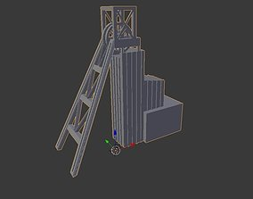 3D print model Coal Mine shaft miniature
