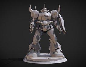 Gouf Gundam 3D print model