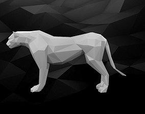 3D Printable Cheetah Model