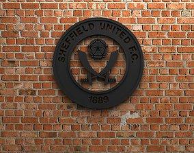 3D printable model Sheffield United FC Logo