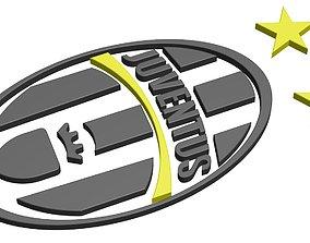 3D printable model logos - juventus