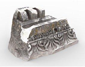Perge Ancient Rock 8 3D asset