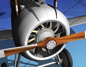 Nieuport 17 Bare Metal 3D
