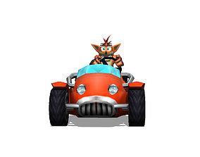 3D printable model Crash Bandicoot - Trikee Crash Tag Team