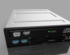 3D dvd Optical Drive CD-DVD-RW Model