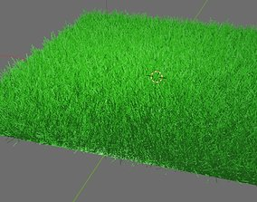 heigh 3D model animated Grass