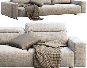 3D BoConcept Hampton 3-seater sofa