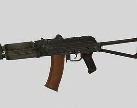 3D model VR / AR ready AKS-74U