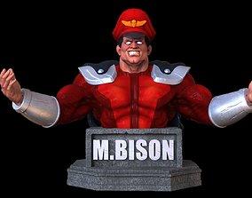 3D print model M Bison bust