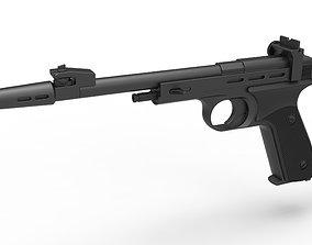 Blaster pistol CDEF from Star Wars 3D model