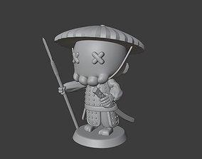 Skeleton Samurai Warrior POP 3D printable model
