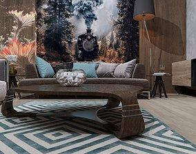3D model Living room interior 18kv-m