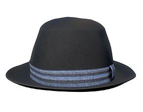 vintage hat 3D model