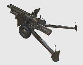 Howitzer Gun 3D model