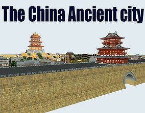 3D model The China Ancient city
