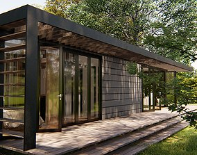 3D LUMION and Sketchup - Container House Tiny House