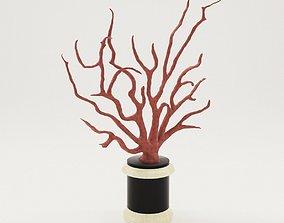 Sculpture Coral - 18th century 3D