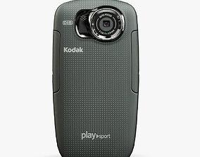 Kodak PlaySport ZX5 pocket 3D model VR / AR ready