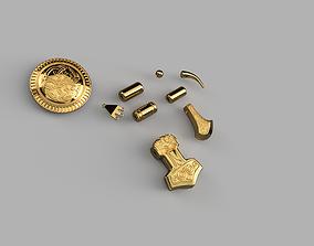 Valhalla Randvi Accessories for Cosplay 3D print model