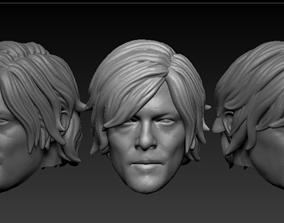 Head Daryl Dixon The Walking Dead 3D printable model