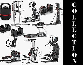 3D model 11 Bowflex Machines Collection