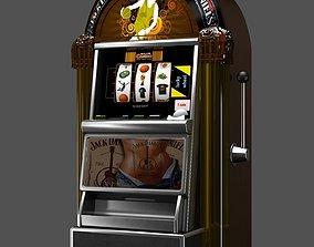 Slot Machine casino 3D model