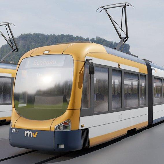 RNV 8 Tram (Blender-2.93 Cycles Render)