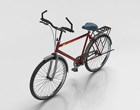 3D asset rigged realtime Bicycle