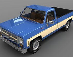 GMC Sierra 15 1975 3D