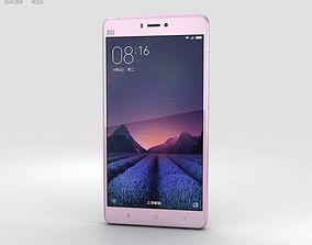 mobile Xiaomi Mi 4s Pink 3D model
