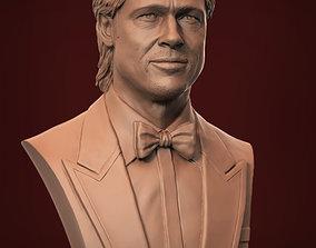 Brad Pitt 3D print model 3dprintable