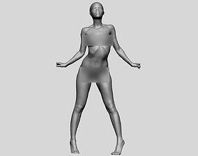 Female Figure Printable