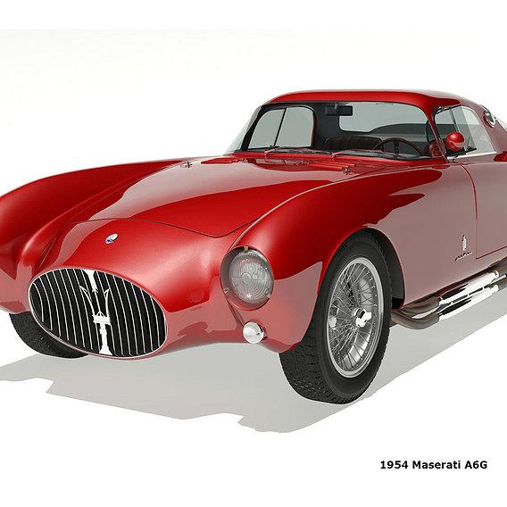 1954 Maserati A6G CS Pininfarina
