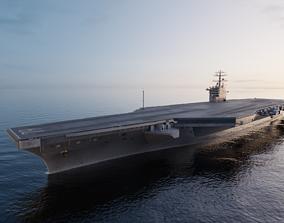 2020 Aircraft Carrier 3D model