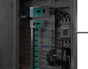 BOX FUSE - Circuit Breaker 3D Model socket